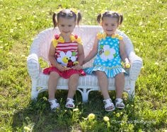 Two Year old Twin girls. Baby Twins, Twin Babies, Twin Girls, Two Year Olds, Harajuku, Texas, Photography, Style, Fashion