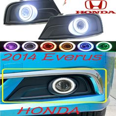 Car-styling,Everus S1 fog lamp,2014,chrome,LED,Free ship!2pcs,Everus S1 head light,car-covers,Halogen/HID Ballast;Everus S1