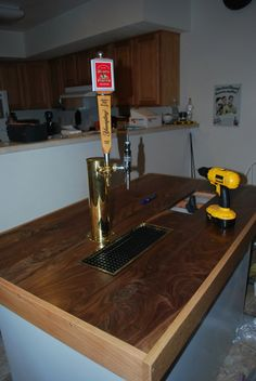 Diy 4 Tap Kegerator Tower This Is What I Am Talking