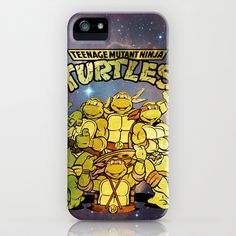 Teenage Mutant Ninja Turtles iPhone & iPod Case by Nerdy Girl Swag - $35.00