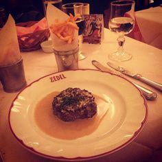 #Après #theatre #steak at #Brasserie #Zedel in #London #Piccadilly