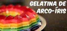 Receita de Gelatina Colorida (A melhor receita!!!)