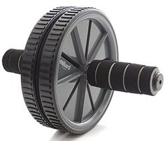 Dual Wheel Stability with Training Guide Everlast Ab Roller Wheel Shredder