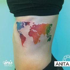 #iristattoo #tattoo #tatuaje #tattooart #tattooartist #tattoostudio #tattoopalermo #palermo #ink #tattoobuenosaires #buenosaires #customtattoo #acuarela #acuarelatattoo #watercolor #watercolortattoo #planisphere #planispheretattoo