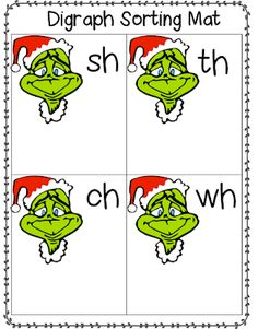 Hello Everyone! I am hoping you all have had a wonderful weekend. We finally had some time to put up some Christmas decorations at the hou. Centers First Grade, First Grade Activities, Spelling Activities, 1st Grade Writing, First Grade Reading, First Grade Classroom, H Brothers, Esl, School