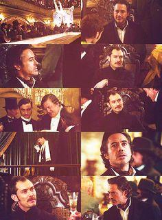 """To my good friend, John...HAMISH...Watson.""  (""Sherlock Holmes: A Game of Shadows"" - Robert Downey Jr., Jude Law and Stephen Fry)"