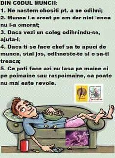 umor amuzant in romana ; Very Funny, Haha Funny, Funny Memes, Jokes, Lol, Job Humor, Videos Funny, Cringe, Comics