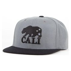 cfc35319af750 Snapback Fashion Blog AMERICAN NEEDLE Cali Bear Mens Snapback Hat