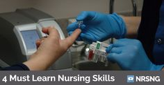Learn how to rock these 4 skills and you will look like a pro on your first nursing clinical.