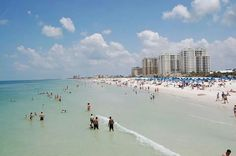 Clearwater beach Florida, and we definitely will have to stop here because it's my home beach :))