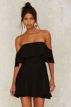 Off the Deep End Mini Dress | Shop Clothes at Nasty Gal!