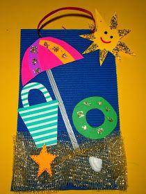 Προσχολική Παρεούλα : Καλοκαιρινές κατασκευές της Προσχολικής Παρεούλας !!! Summer Crafts, Summer Fun, Fun Crafts, Crafts For Kids, Kindergarten, Toddler Fun, Craft Activities, Tweety, Preschool
