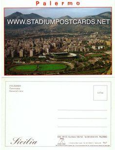 € 0,90 - code : ITA-033 - Palermo - La Favorita - stadium postcard cartolina stadio carte stade estadio tarjeta postal