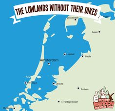 Thank god for Dutch dikes. Although it would be fun to have sea view in Amsterdam