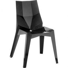Cadeira Deby Preto Sólido – Rivatti - http://batecabeca.com.br/cadeira-deby-preto-solido-rivatti-mobly.html