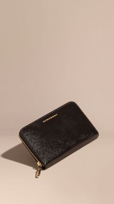 c42a29caff76 Black Patent London Leather Ziparound Wallet Black - Image 1 Black Image,  Wallets For Women