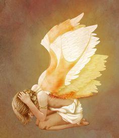 Gabriel's Wings by veggiecake.deviantart.com on @deviantART