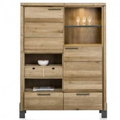 MODRAVA by H&H Highboard