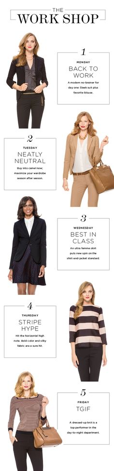 So many great Wear To Work looks now available at THELIMITED.com