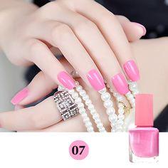 19 Colors Choose Gel UV Nail Polish Quick Dry Nail Art Polish Scent Nail Lacquer. Click visit to buy #Nail #Polish #NailPolish