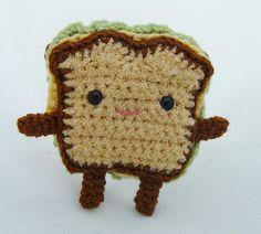 amigurumi sandwich :)
