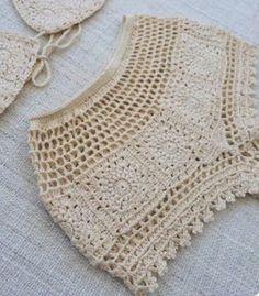 Ideas Crochet Bikini Bottoms Pattern Etsy For 2019 Crochet Bikini Bottoms, Crochet Shorts, Crochet Clothes, Crochet Lace, Crochet Short Dresses, Crochet Granny, Crochet Designs, Crochet Patterns, Crochet Lingerie