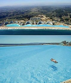 Largest pool in the world, located @ Chile :)