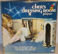 MEGO: 1976 CHER'S Dressing Room Playset: I would have KILLED for this as a kid!!
