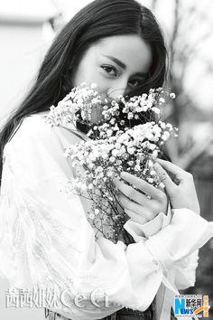 Dili Reba poses for fashion magazine   China Entertainment News