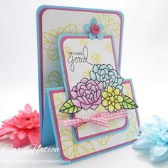 スプリングカラーのカード by:CardNation #カード