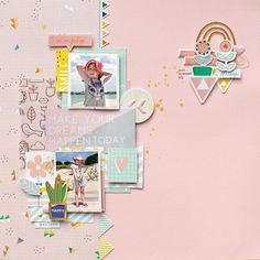 My shiny studio: LAYOUTS WITH THE DREAM ON COLLECTION - PINKFRESH STUDIO