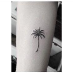 Bildergebnis für palm tree tattoo