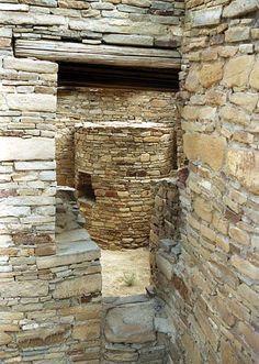 Corner door at Chetro Ketl  Chaco Canyon