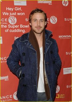 This is my fantasy: Winning the Cuddling superbowl with Ryan Gosling as the Cowboys win the literal superbowl.