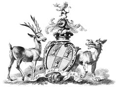 Baron Dacre coat of arms