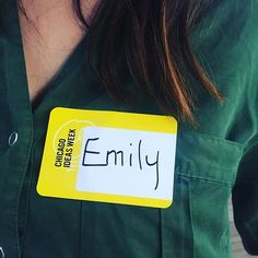 Hello My Name Is Custom Name Tag Badge ID Pin Magnet for Social Events Parties