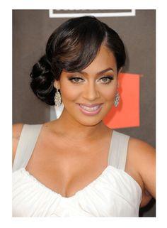 Wedding Hair and African American Wedding Makeup
