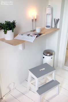 DIY IKEA stool makeover via thatnordicfeeling blog