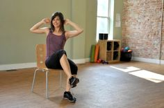 Sneaky Leg-Toning Exercises You Can Do from a Chair via @SparkPeople