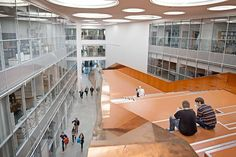 New Technical Faculty (Faculty of Engineering) at the University of Southern Denmark in Odense, by C.F. Møller Architects.