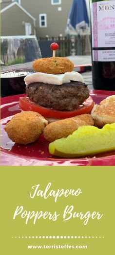 Welcome to Burger Month 2020!  To start out this incredible month is this Jalapeno Popper Burger. The popper is inside the burger as well as one for the garnish.  #jalapenopoppers #burgermonth #memorialdaybbq