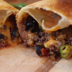 A taco calzone just makes too much sense.