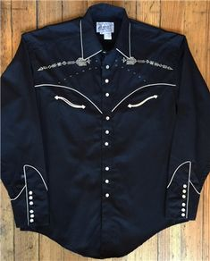 Follow Your Arrow! Vintage Embroidery Western Shirt