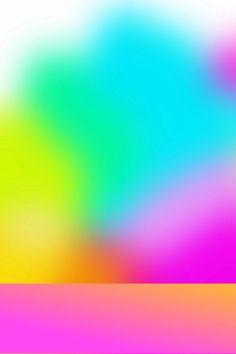 iPhone wallpaper rainbow blur