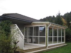 hagestuer - Google-søk Porch, Pergola, Shed, Deck, Outdoor Structures, Landscape, Google, Outdoor Decor, House