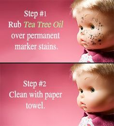 Tips to remove permanent marker from plastic