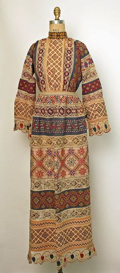 """FolkCostume&Embroidery: Russian Town Costume     Traditional folk-inspired town costume, XIX - early XX century.  Modern term is """"russian style costume"""""""