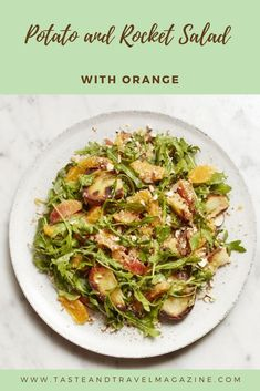 Recipe for potato and rocket salad
