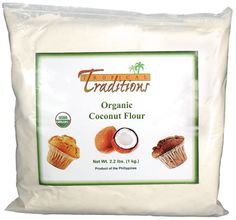 Organic Coconut Flour makes a great low carb, high fiber, gluten free substitute for wheat flour. This site provides an abundance of recipes using coconut flour. Recipes Using Coconut Flour, Baking With Coconut Flour, Coconut Recipes, Real Food Recipes, Gluten Free Flour, Gluten Free Baking, Gluten Free Recipes, Dairy Free, Paleo Flour