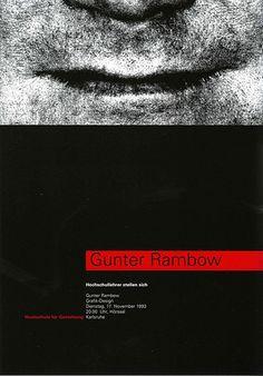 Graphic Design HfG/Karlsruhe – HfG faculty Gunter Rambow